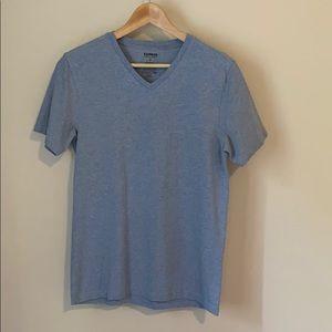 Express Stretch V-Neck T-shirt
